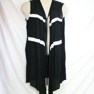 Womens Retro Hippy Fringe HOBO Vest